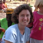 Rachel Bezner Kerr at a recipe day, Chinombo Shonga, August 2003
