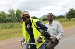 MAFFA staff working hard up the hills around Ekwendeni area, on our bicycle promotion tour (March 2014).