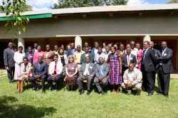 Participants of the 'Agroecology-Based Smallholder Farming in Malawi' policy workshop in Lilongwe, Malawi, May 10, 2016